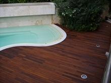 WOODEN FLOORING EXTERIOR (DECKING)